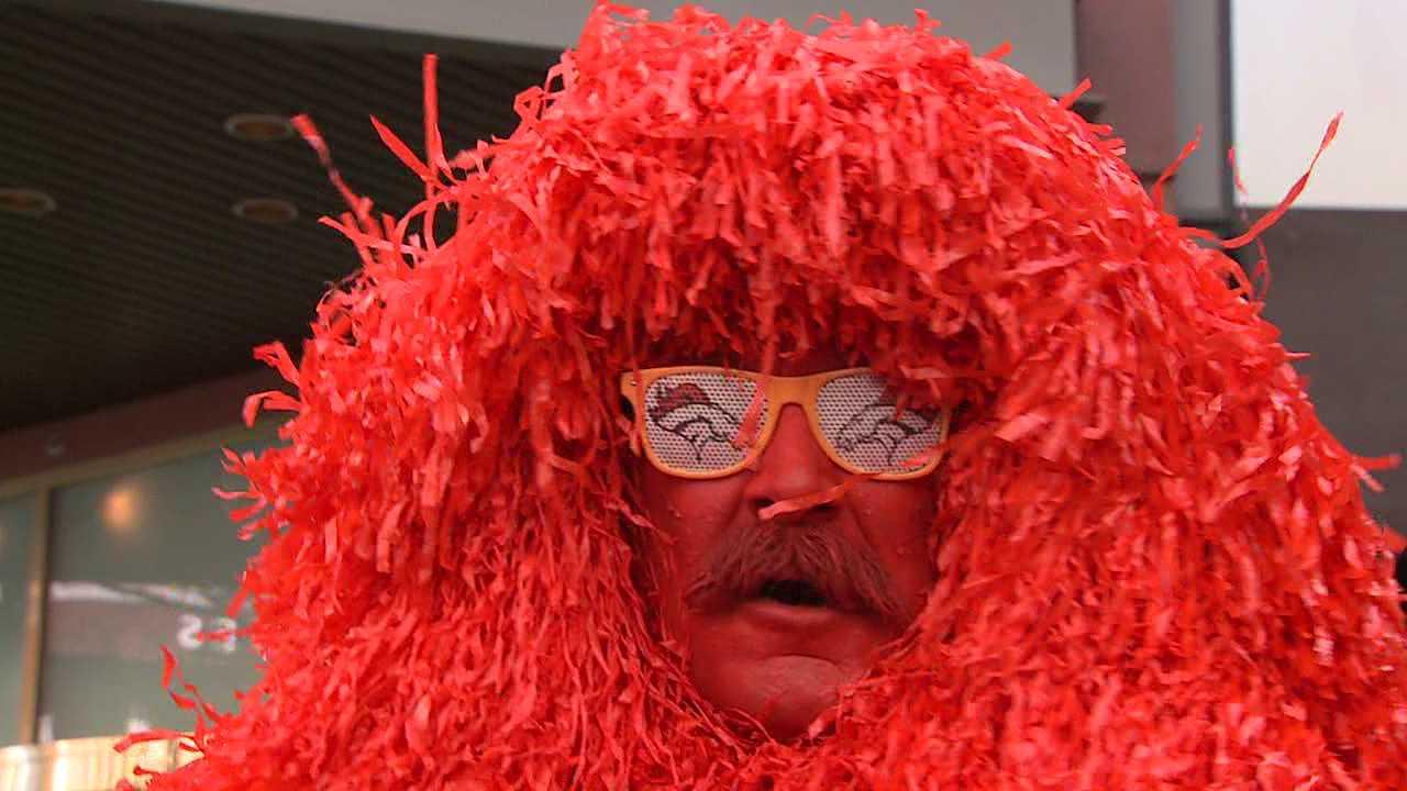 Denver Broncos fan Kerry Green is United in Orange