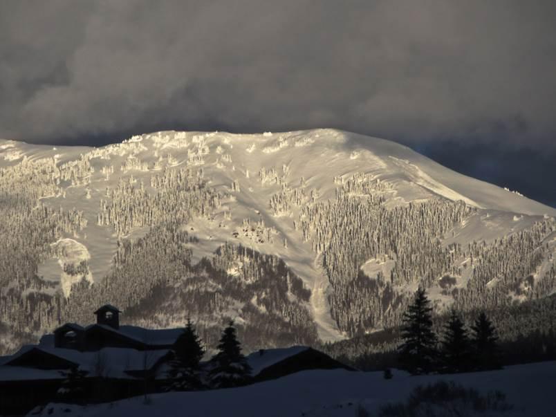 Double Top Mountains, west aspect, near Gunnison, Colo. Photo courtesy: Colorado Avalanche Information Center
