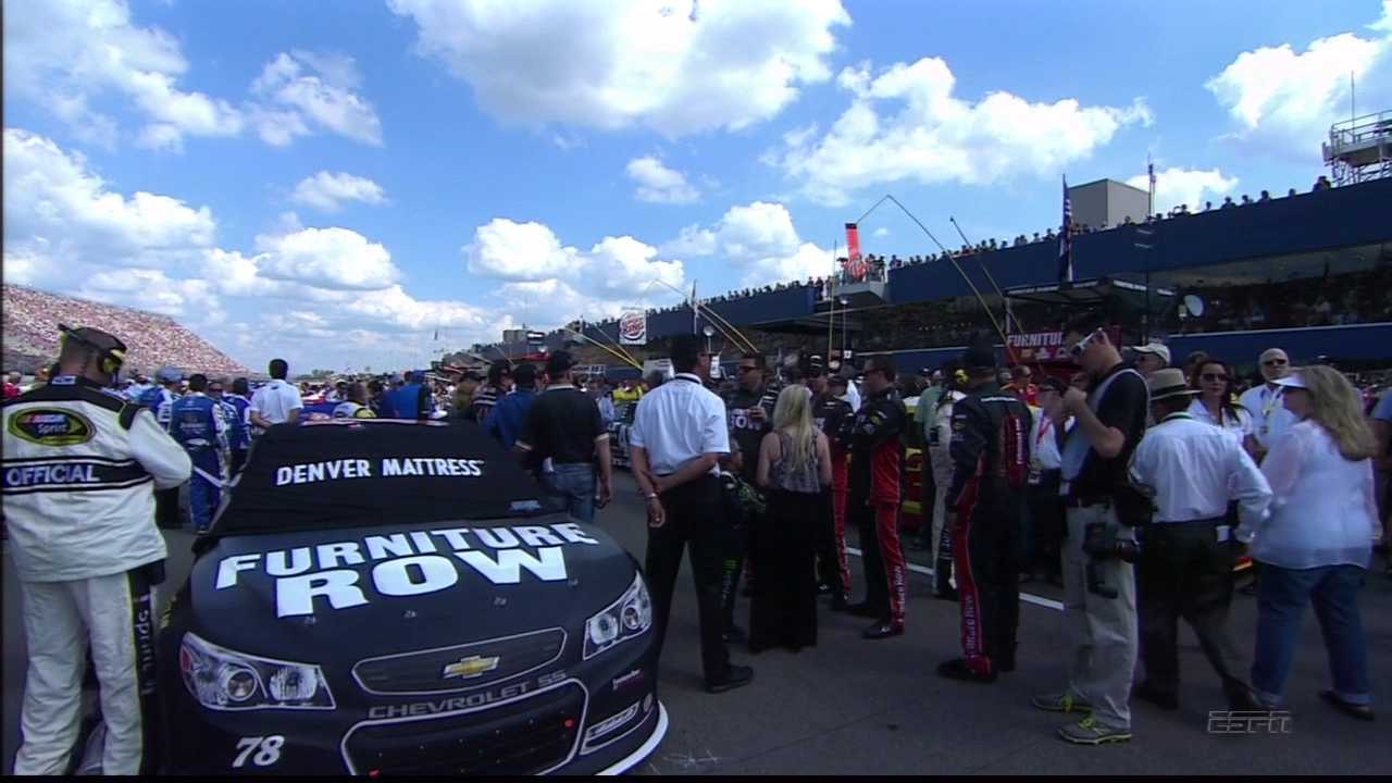 Furniture Row Racing's NASCAR entry is the number 78 Chevrolet