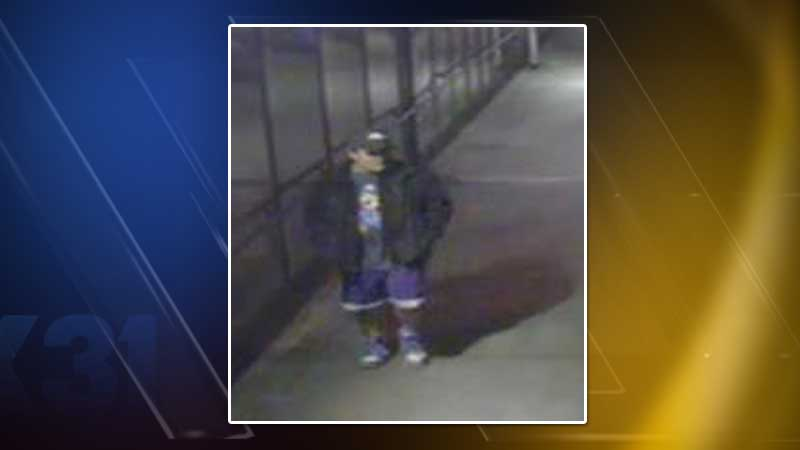 Police released a photo taken from a surveillance camera of a person of interest in the case. They ask anyone who knows this person to call detectives