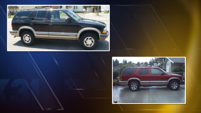 suspect vehicle in hit-and-run