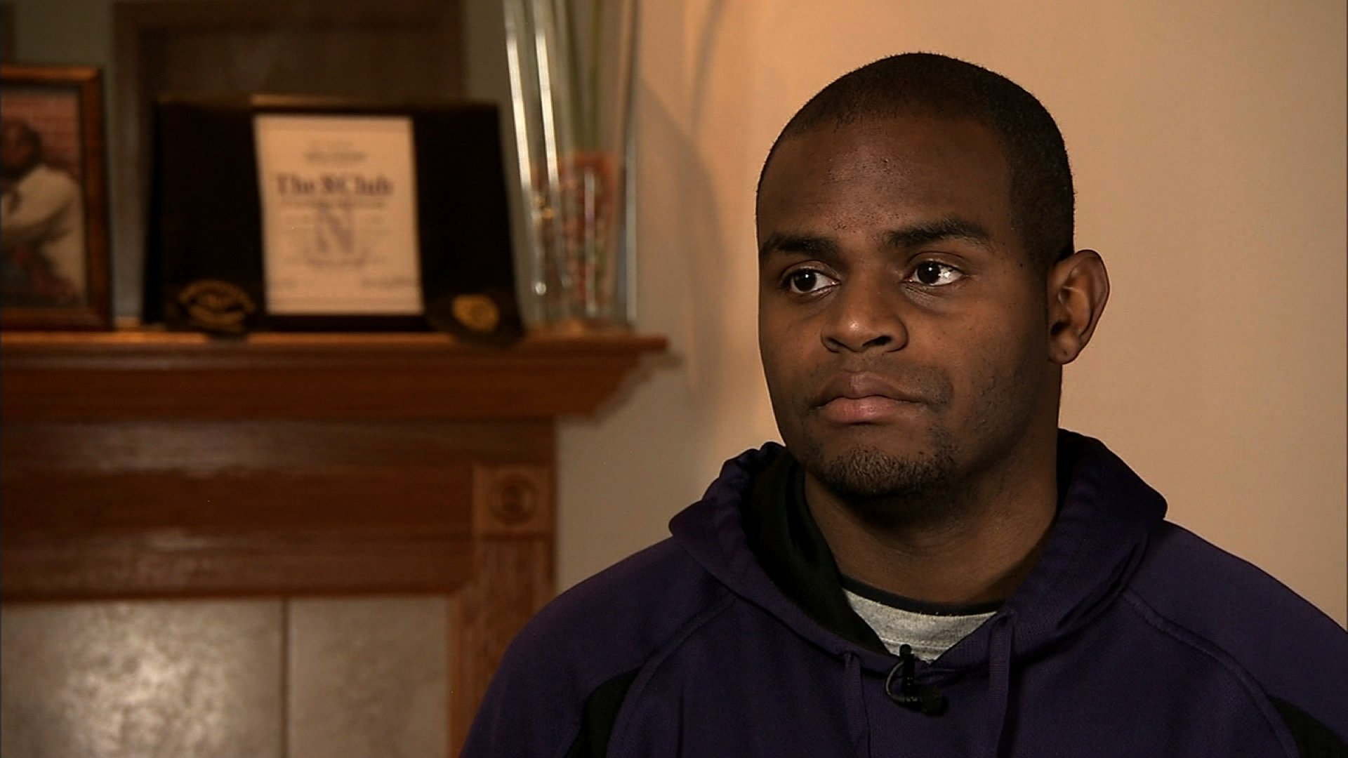 When former Northwestern Football player Jeff Yarbrough was recruited in 2003, he was among the top six fastest teens in the state of Illinois. But he fractured both legs during his college career and doctors had to put metal rods and screws in both shins. He's in so much pain, he can barely run. He's only 27 years old.