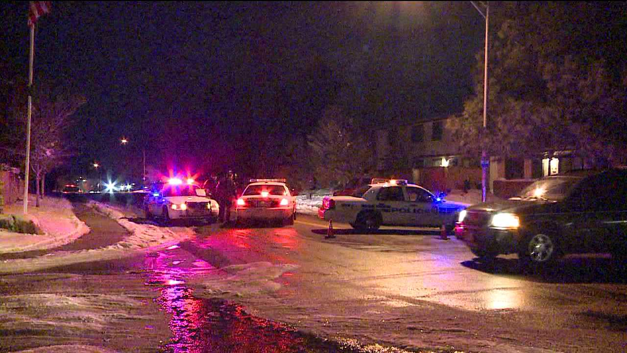 Police block roads during standoff in Thornton