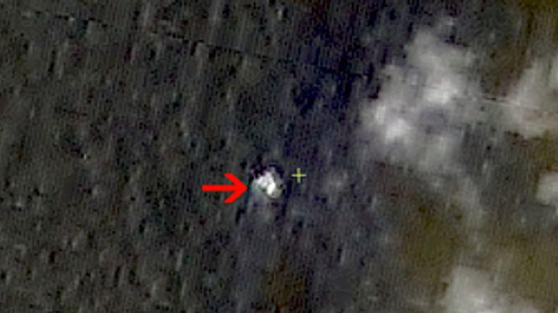 """A Chinese satellite looking into the mysterious disappearance of Malaysia Airlines Flight 370 """"observed a suspected crash area at sea,"""" a Chinese government agency said."""