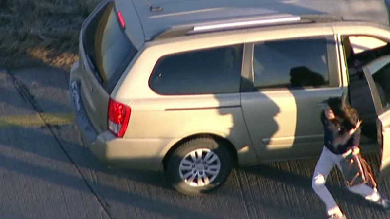 Suspect Ryan Stone accused of carjacking this vehicle on I-76