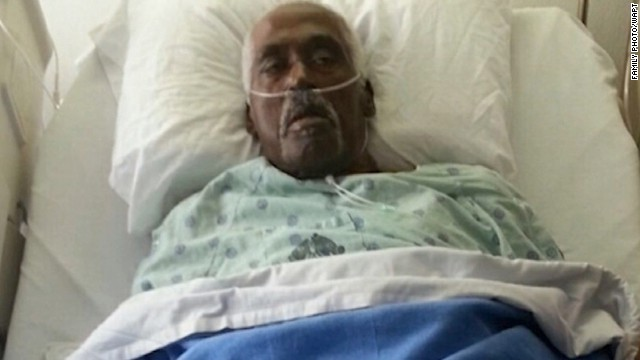 Walter Williams woke up inside a body bag in a funeral home in Miss. Courtesy: Family photo via WAPT