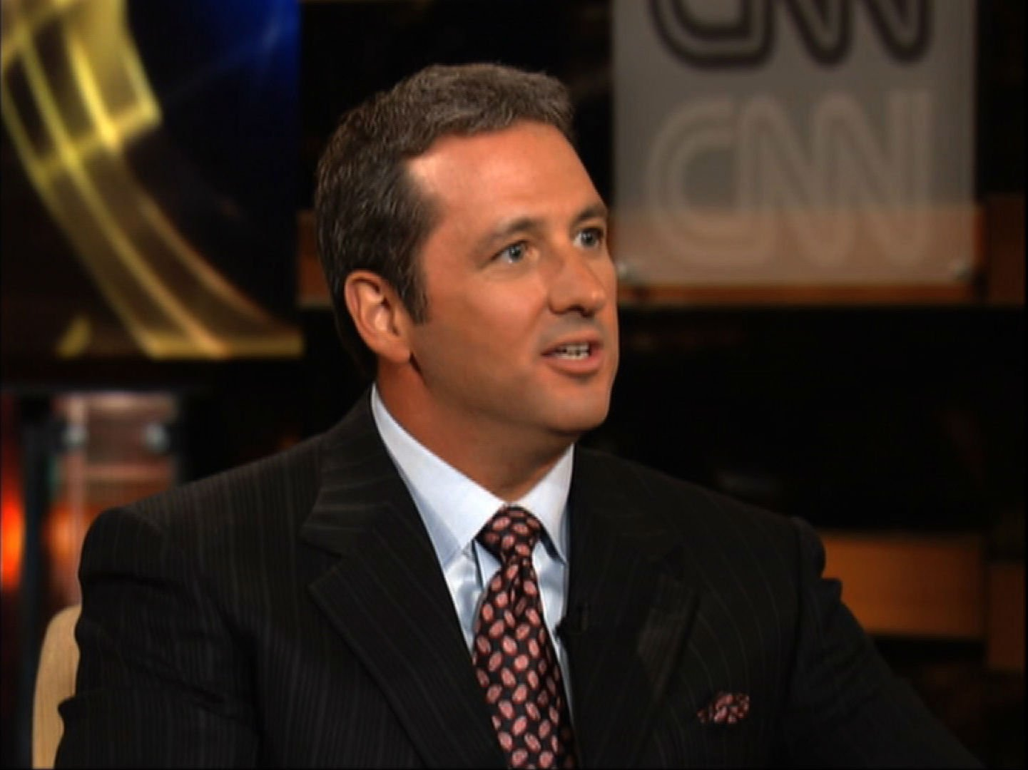 Former TV pitchman Kevin Trudeau speaks with CNN in 2005. He was sentenced in a Chicago courtroom Monday, March 17, 2014, to 10 years in prison for making false claims in infomercials about a weight loss program.