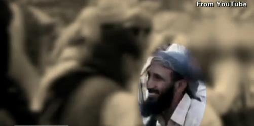 Nasir al-Wuhayshi, al Qaeda's crown prince. Image from al Qaeda meeting in Yemen. From CNN and YouTube