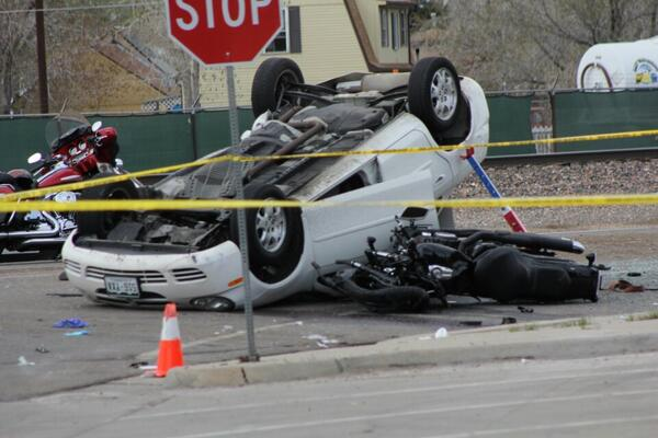 Crash at East 72nd Avenue and Highway 2 in Commerce City