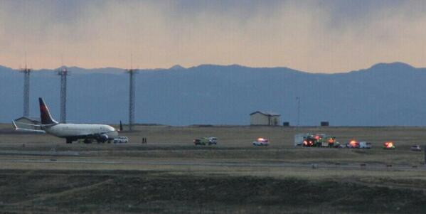 Delta jet at remote part of DIA. Photo: Daryl Orr