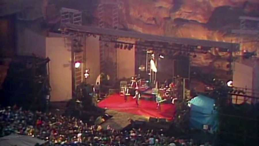 Concert at Red Rocks Amphitheater, Morrison, Colo.