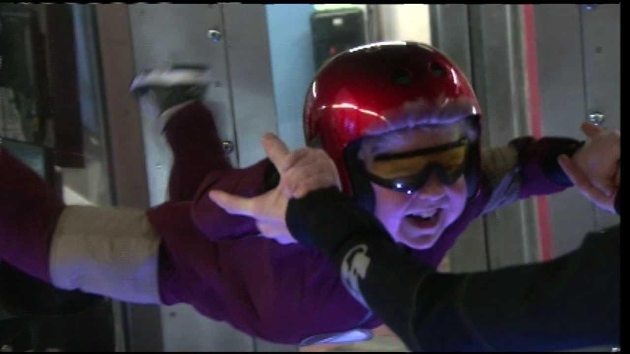 Max Vertin flies like a superhero