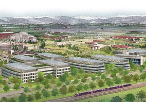 Rendering of VA Hospital in Aurora, Colo. Courtesy: denver.va.gov