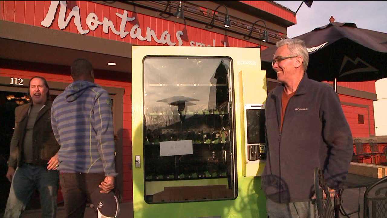 Marijuana vending machine delivered in Avon, Colo.