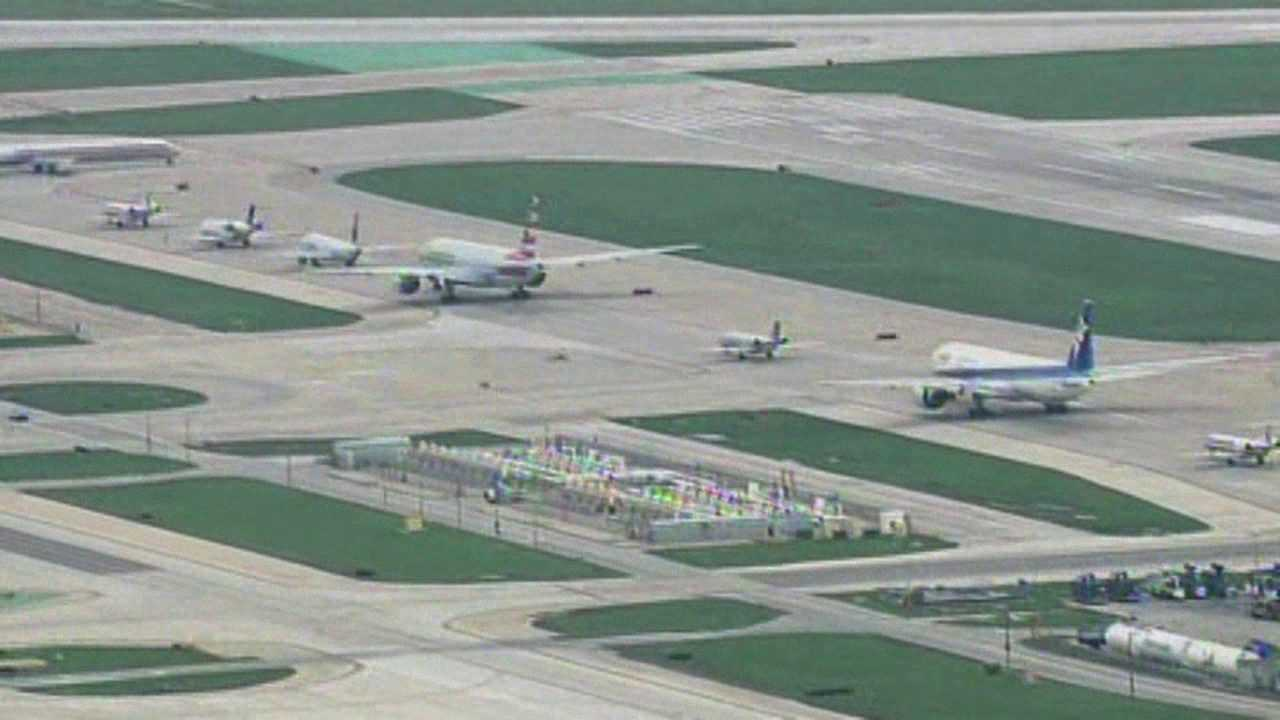 Ground stop at Chicago O'Hare
