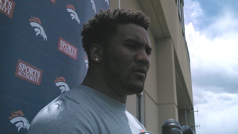 Denver Broncos safety T.J. Ward