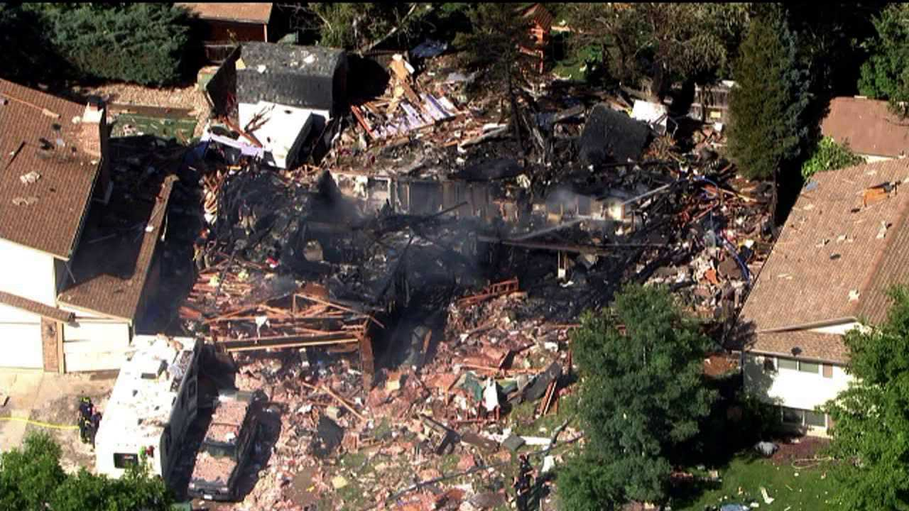 Explosion destroys house in Thornton, Colo.