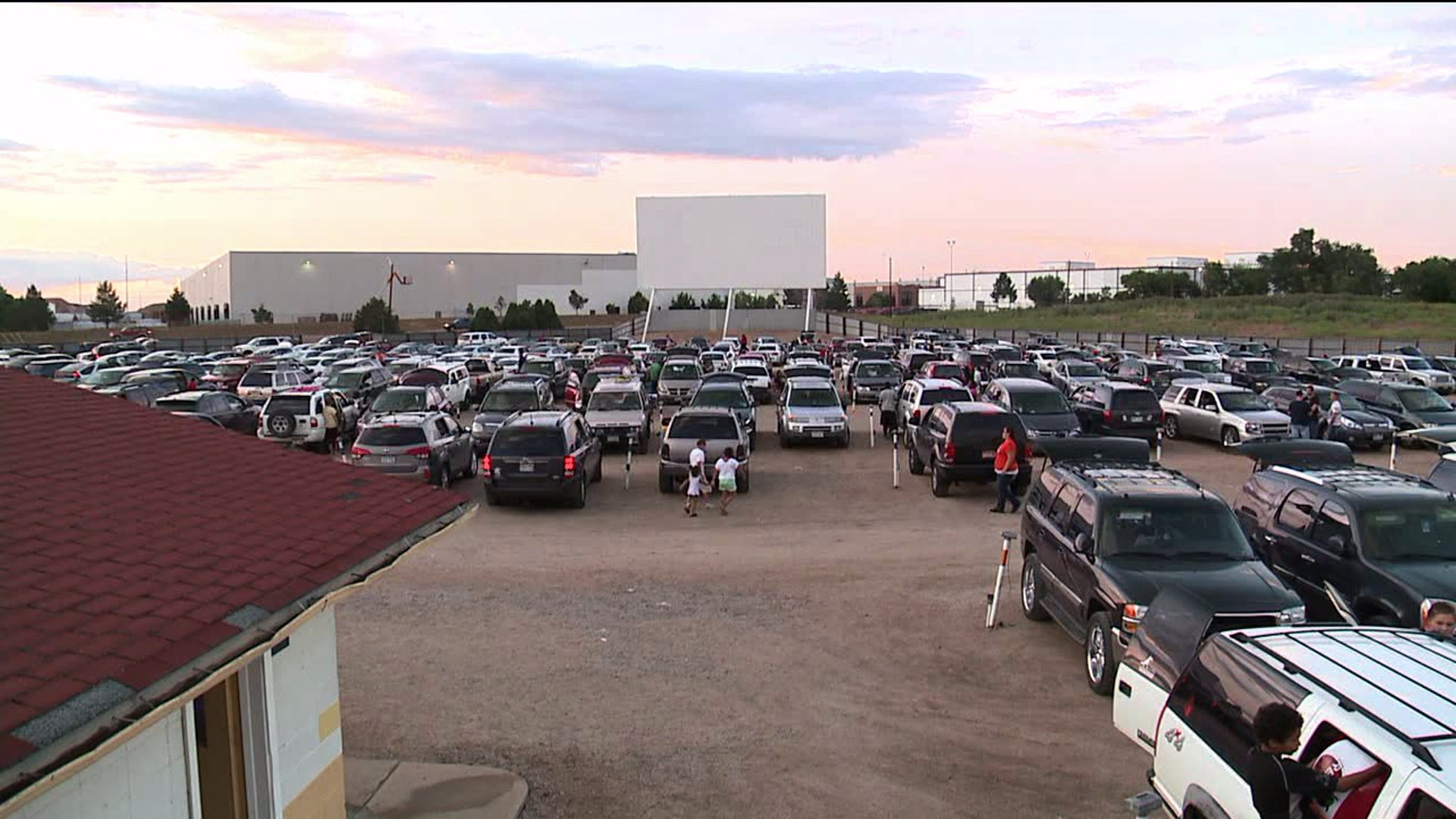 88 Drive-In theater in Commerce City, Colo.