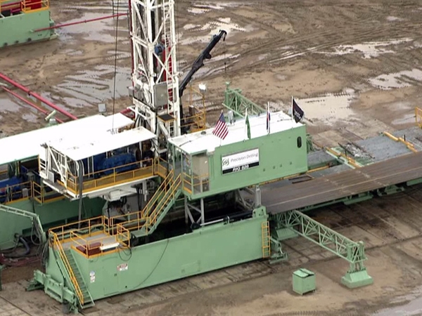 A fracking site in Weld County was temporarily shut down while experts determined the cause of earthquakes in May and June 2014. (Photo: KDVR)
