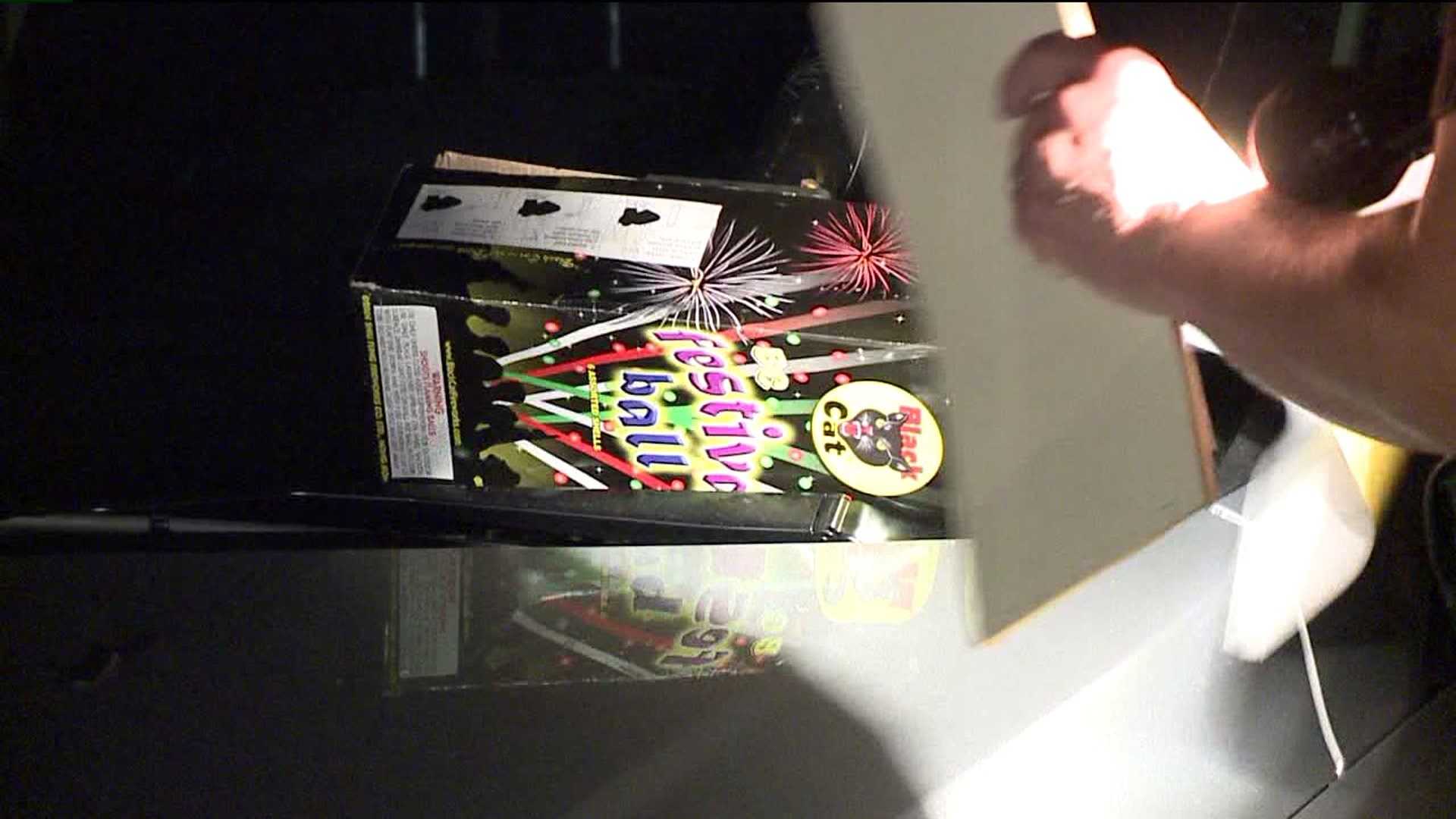 Police enforce fireworks laws