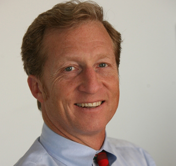 San Francisco billionaire Tom Steyer is pledging to spend $50 million in 2014 in support of candidates willing to push for action to combat climate change.