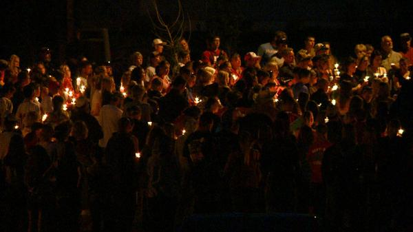 Candlelight vigil in Keenesburg for 14-year-old who police say was killed by his father