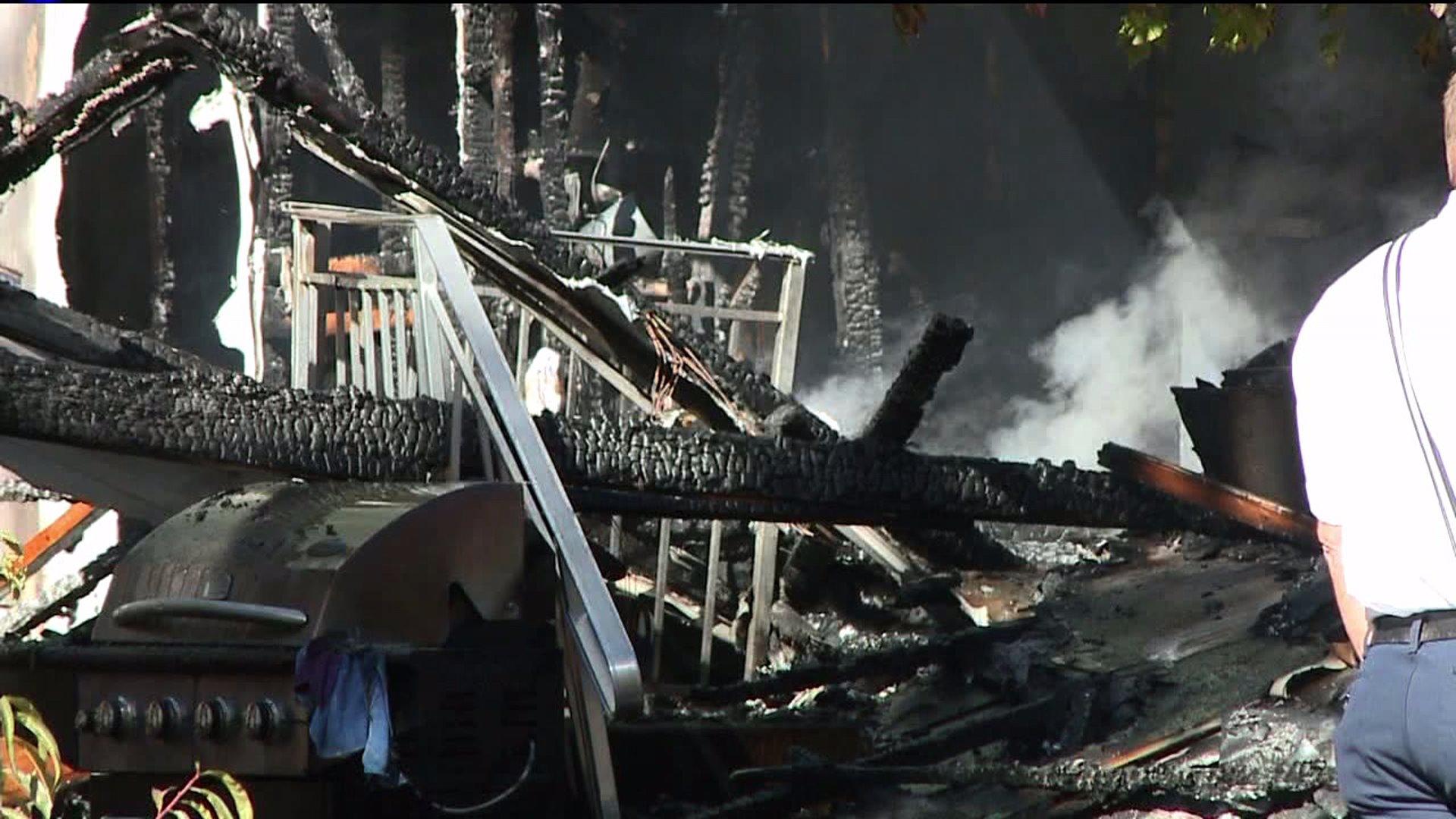 Boulder trailer fire kills little boy