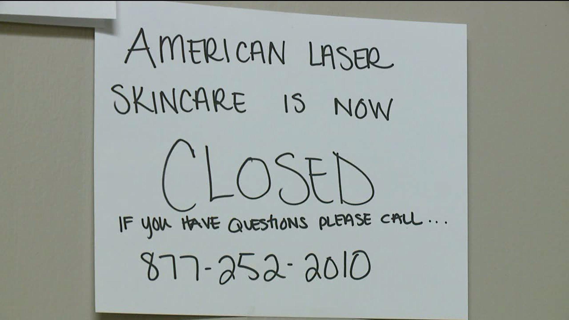 American Laser Skincare clinics close