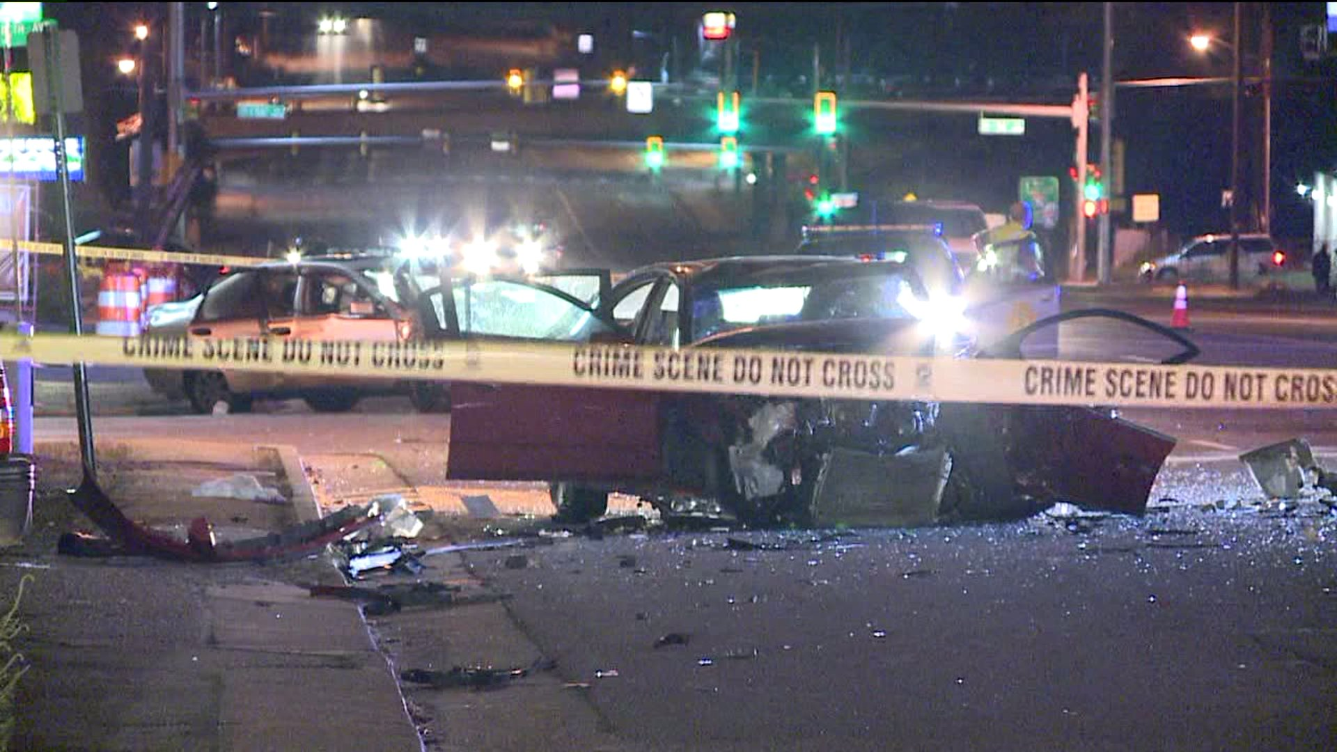Crash at 54th and Federal in Adams County, Colo.