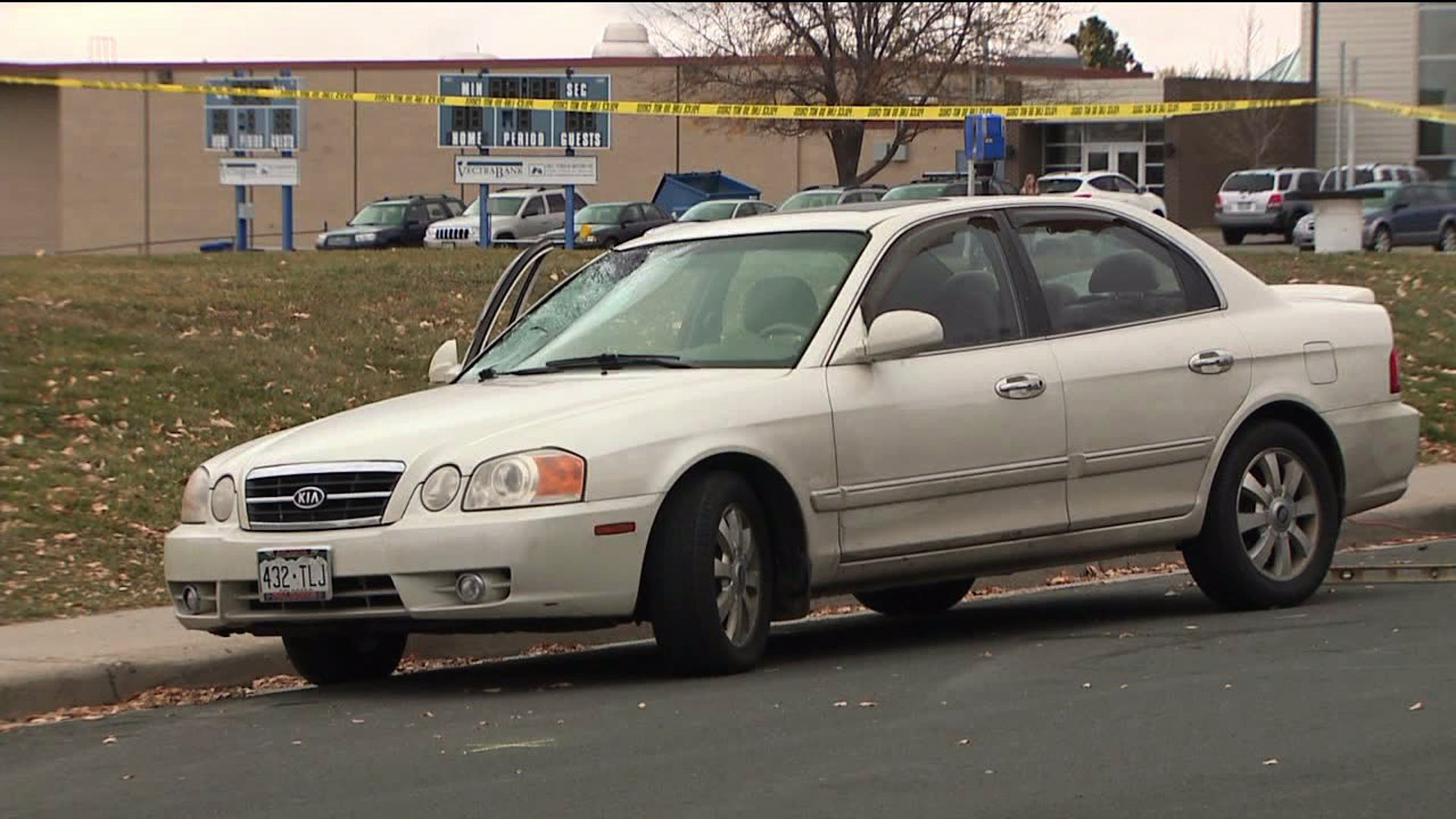 Student hit by car outside Broomfield High School