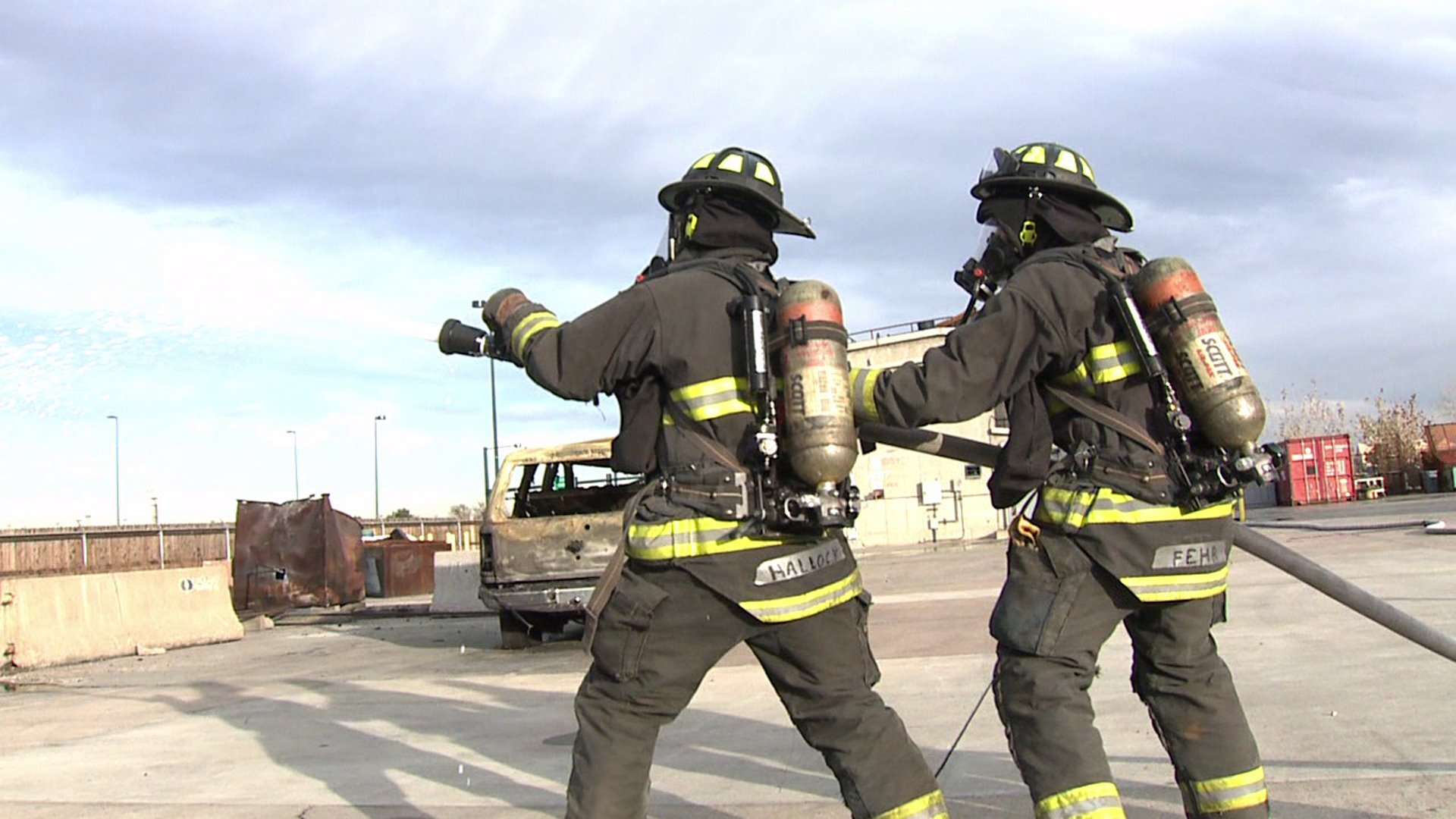 Denver Fire Department recruits