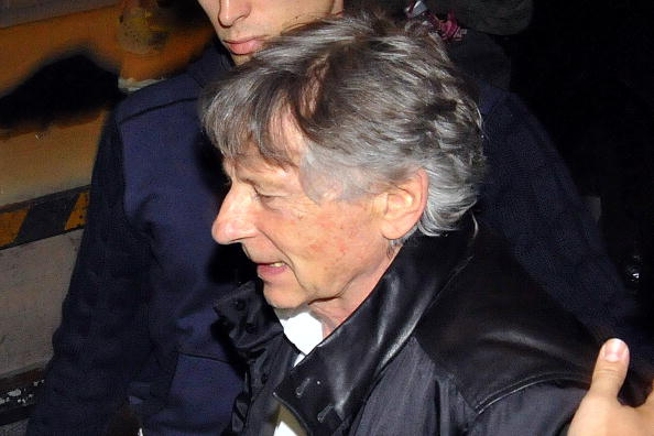 Film director Roman Polanski arrives at the Montreux Jazz Festival on July 17, 2010 in Montreux. Polanski, freed this week after Switzerland refused a US extradition request, said today he felt warm affection for the country despite his arrest last year. The 76-year-old director, who will make his first public appearance since his release to see his wife Emmanuelle Seigner perform at the Montreaux Jazz Festival today, made his remarks in an interview with Swiss television to be broadcast Saturday night. AFP PHOTO/STR (Photo credit should read STR/AFP/Getty Images)