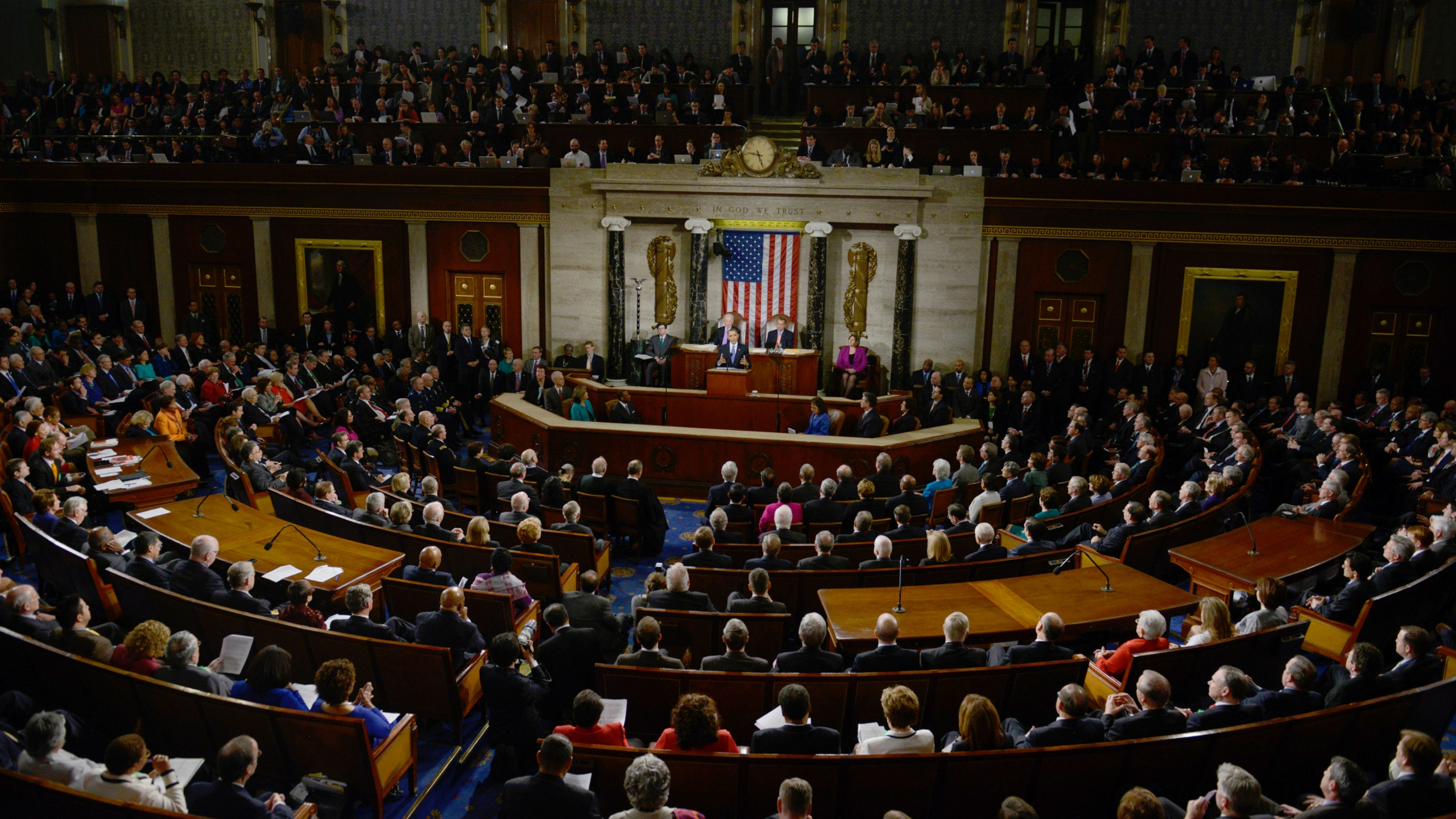 President Barack Obama delivers the annual State of the Union address in 2013. (Photo: BRENDAN SMIALOWSKI/AFP/Getty Images)