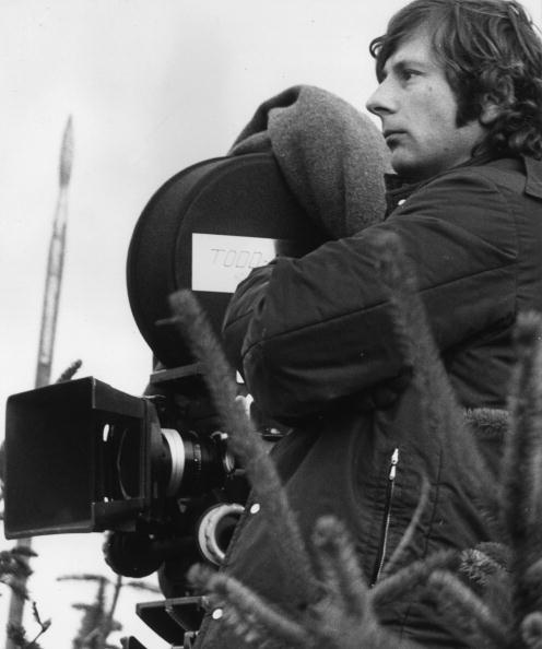 November 1970: Polish director Roman Polanski shooting a film version of Shakespeare's 'Macbeth' on location in Northumberland. (Photo by Ian Tyas/Keystone Features/Getty Images)