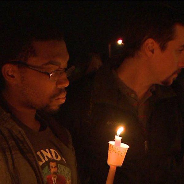 Community holds vigil after girl killed in police confrontation