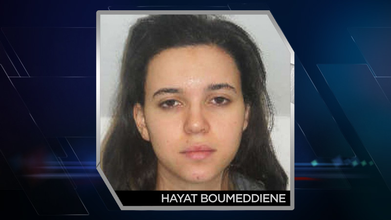 Hayat Boumeddiene, aged 26, known associate of Amedy Coulibaly. (Photo: Direction centrale de la Police judiciaire via Getty Images)