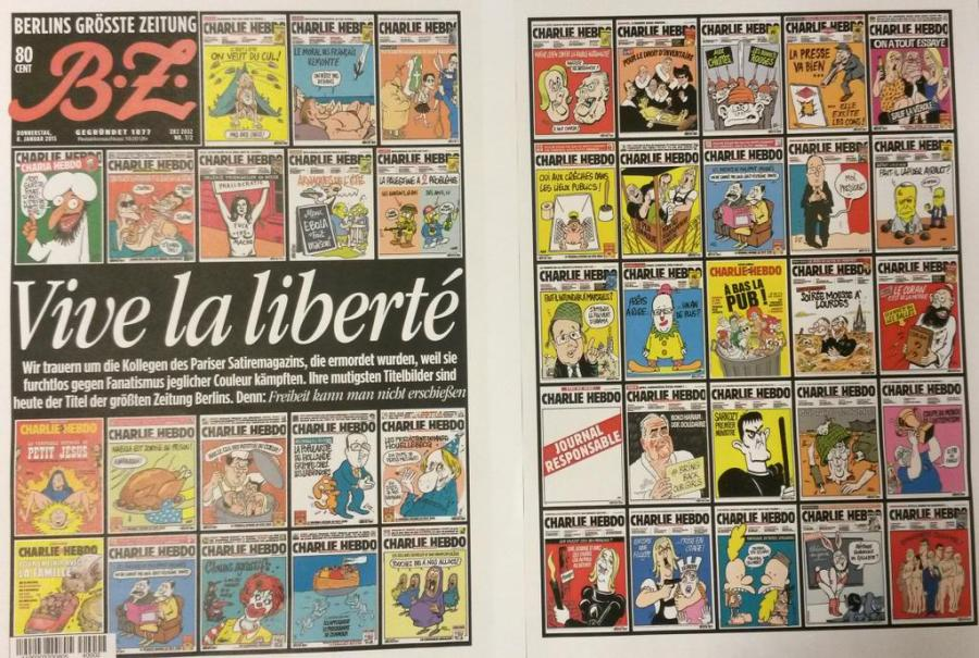 Newspapers Around The World React To Charlie Hebdo Attack Fox31 Denver