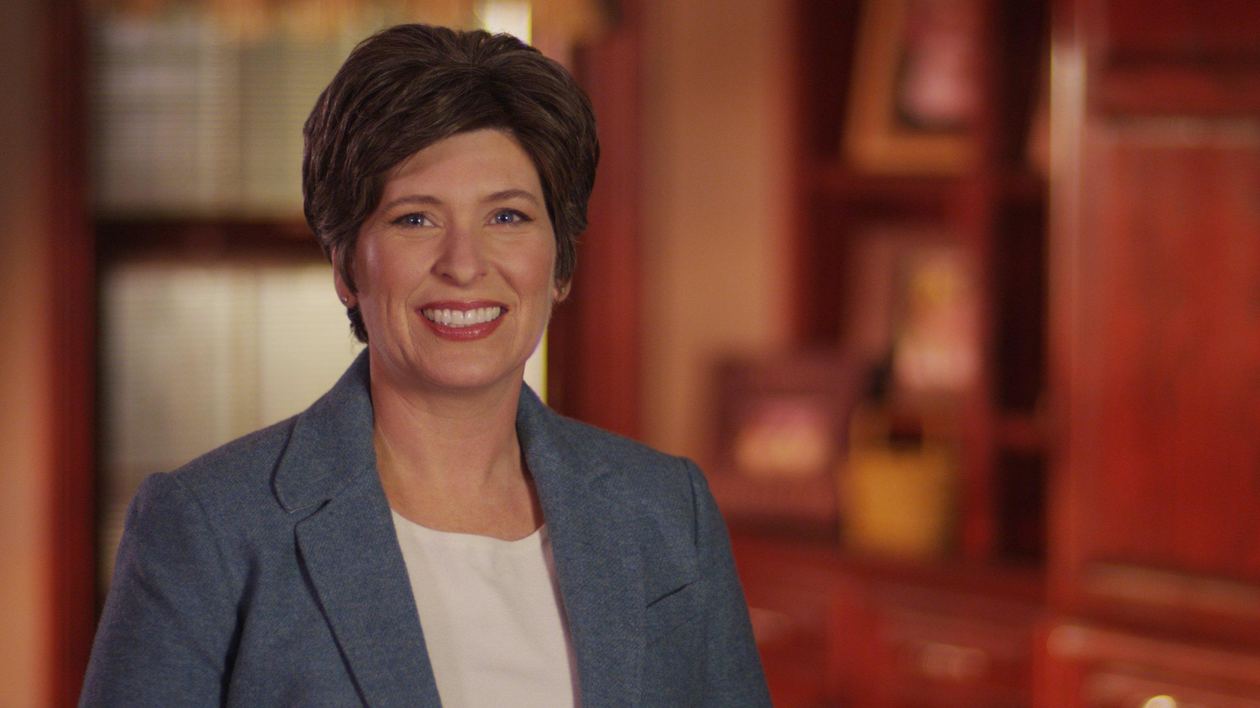 Joni Ernst, (R) Iowa, is the junior United States Senator from Iowa, elected November, 2014.