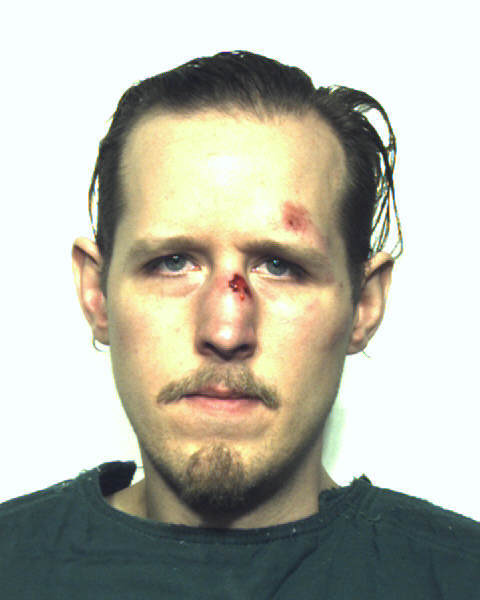 Eric Frein booking photo after being captured Thursday night.