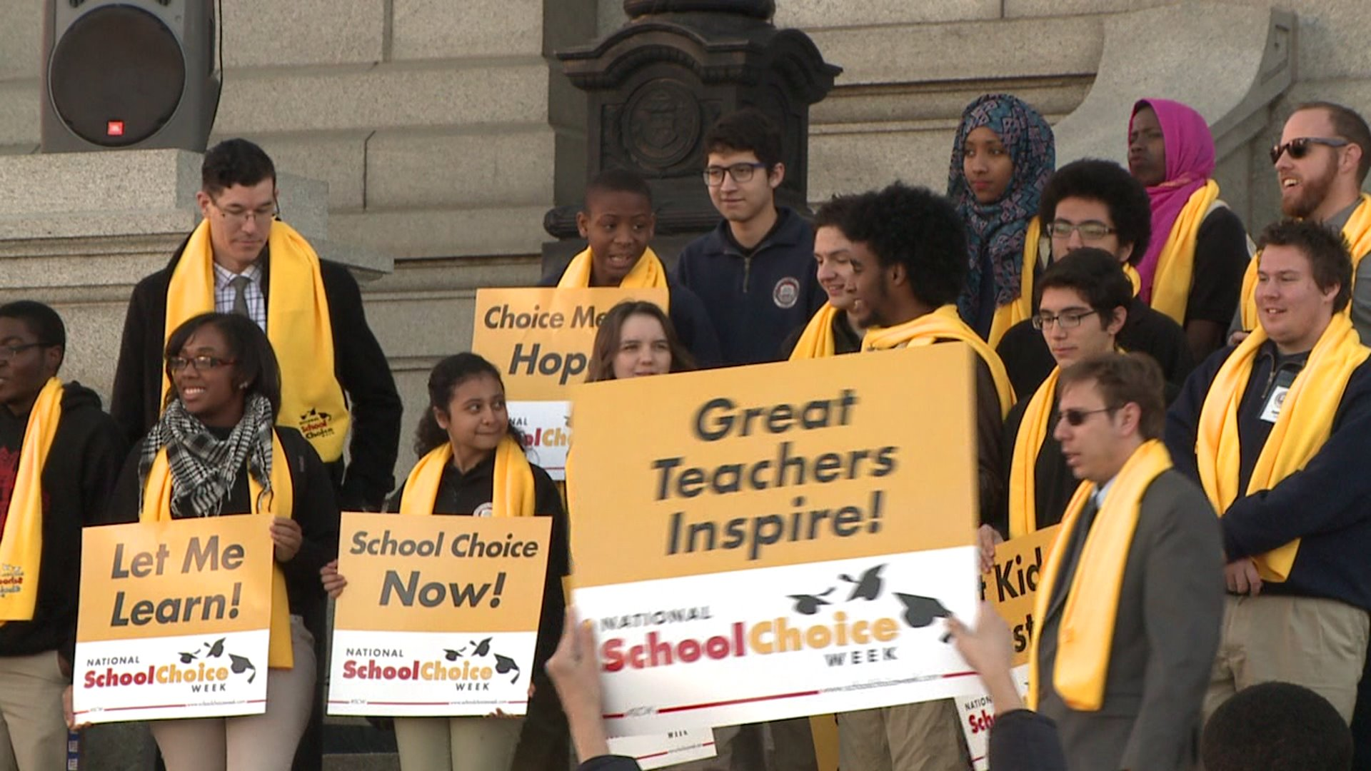 School choice event at the Capitol in Denver