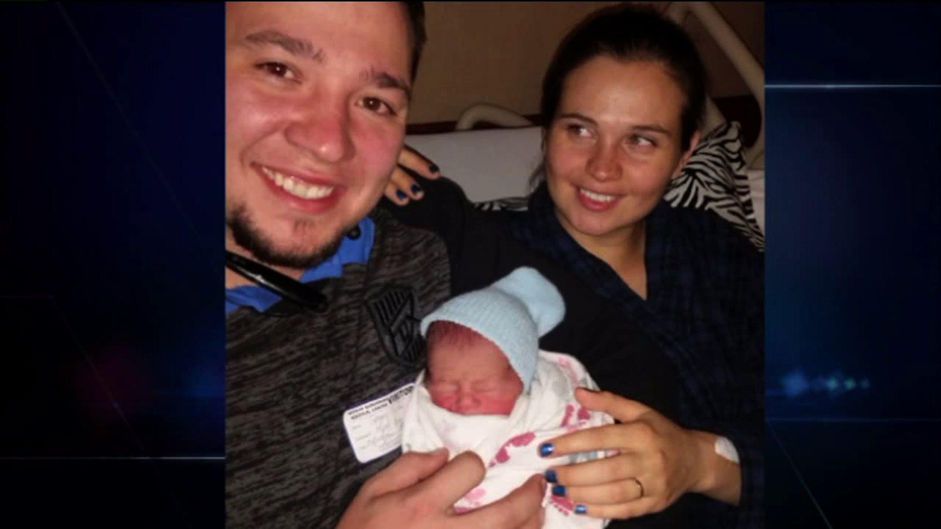 Sergey and Angela Tsushko and baby Elijah