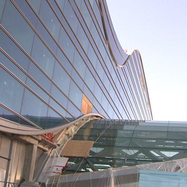 DIA Westin Hotel under construction