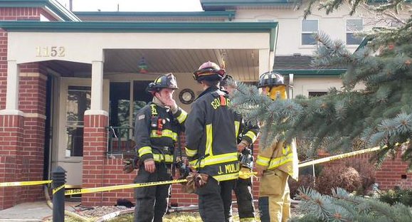 Fire at Ulysses Senior Housing in Golden, Colo. Photo courtesy: Golden Fire Department