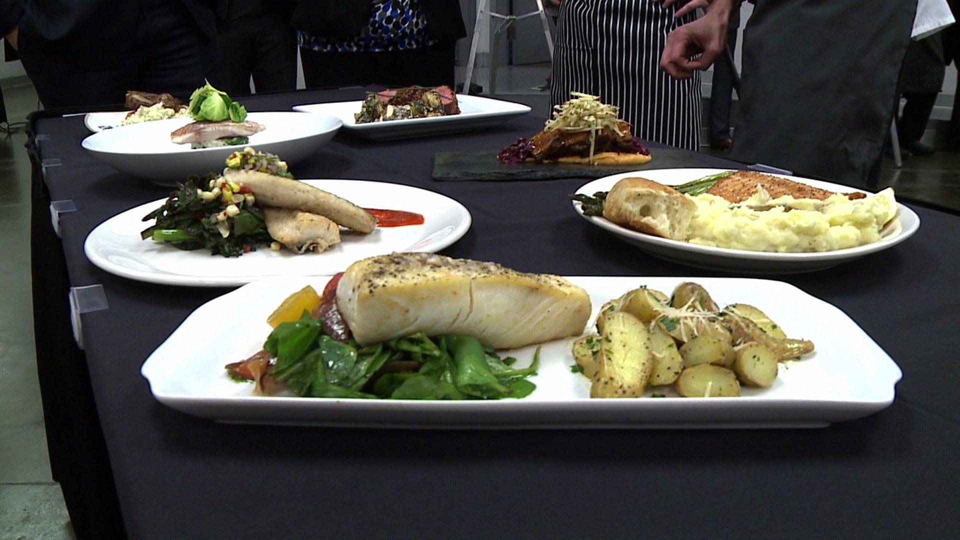 Food prepared for Denver Restaurant Week