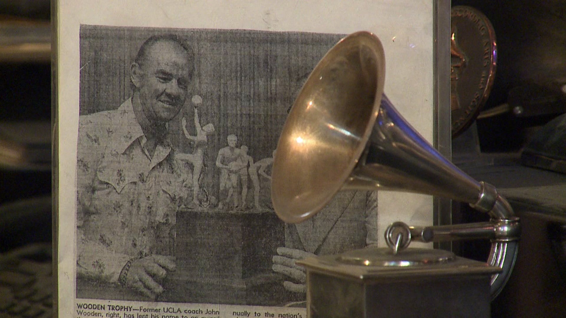John Billings makes the Grammy statue in Colorado