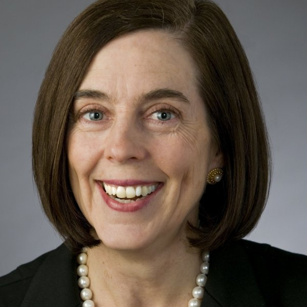 Oregon Secretary of State Kate Brown (D-Oregon). Since Oregon does not have a lieutenant governor, the secretary of state is next in line to the governorship if the sitting governor leaves office.