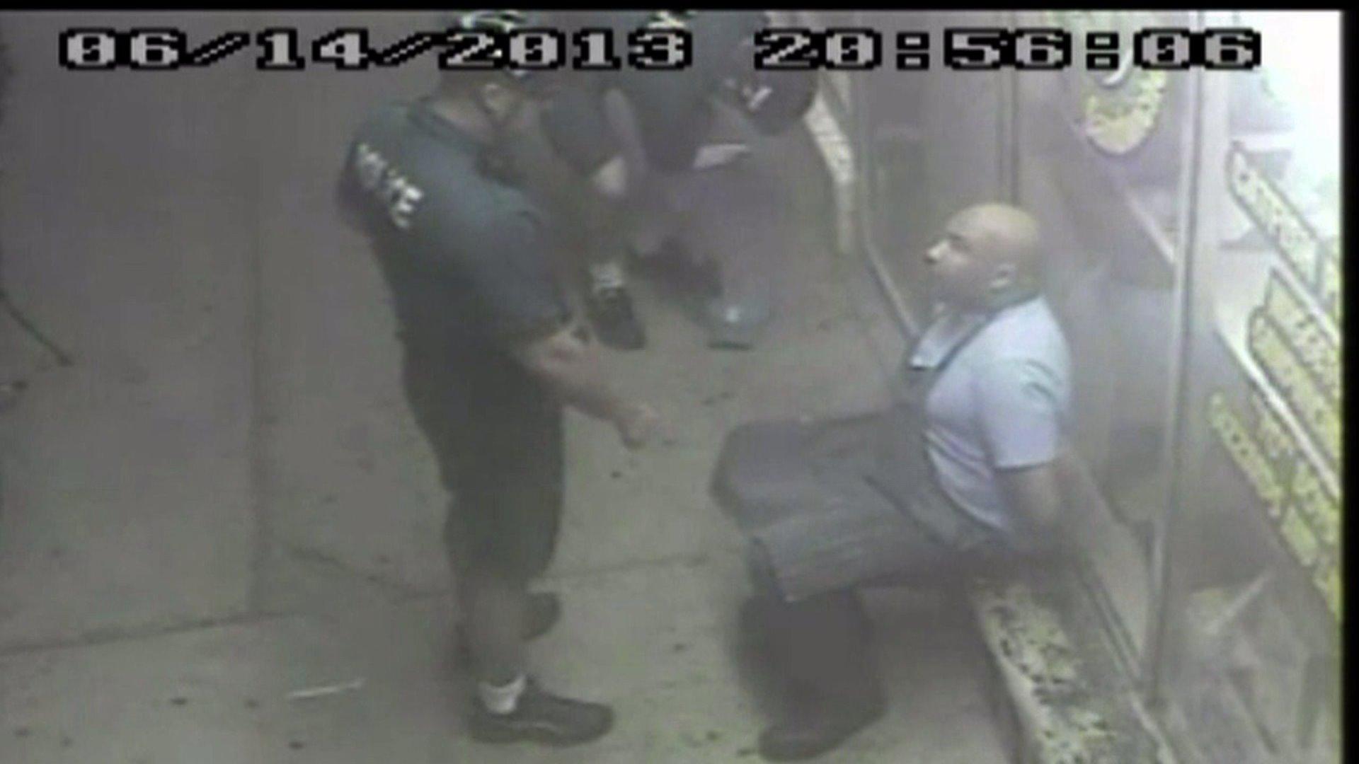 Officer Shawn Miller, left