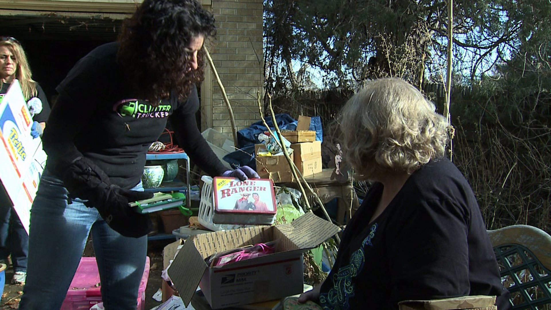 One woman works to overcome hoarding