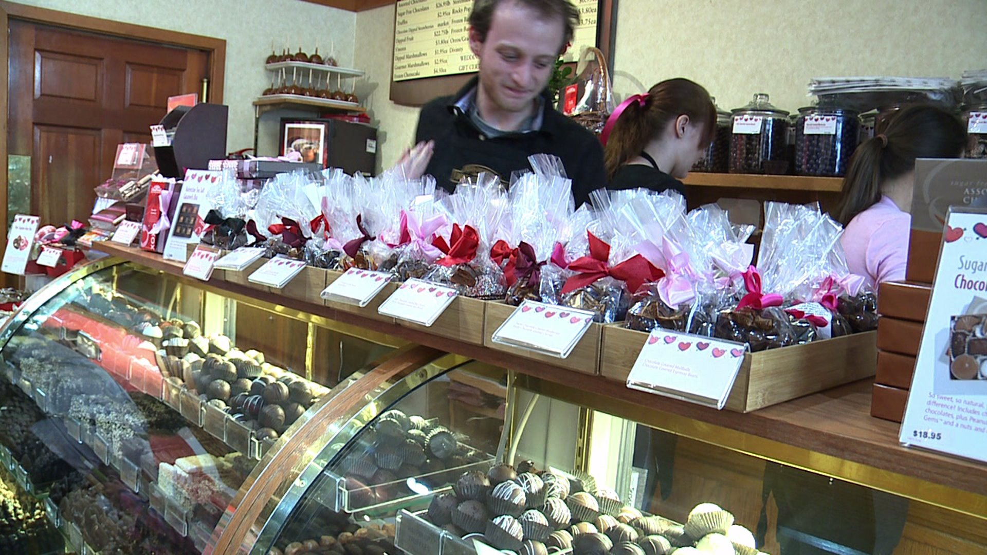 Rocky Mountain Chocolate Factory in downtown Denver