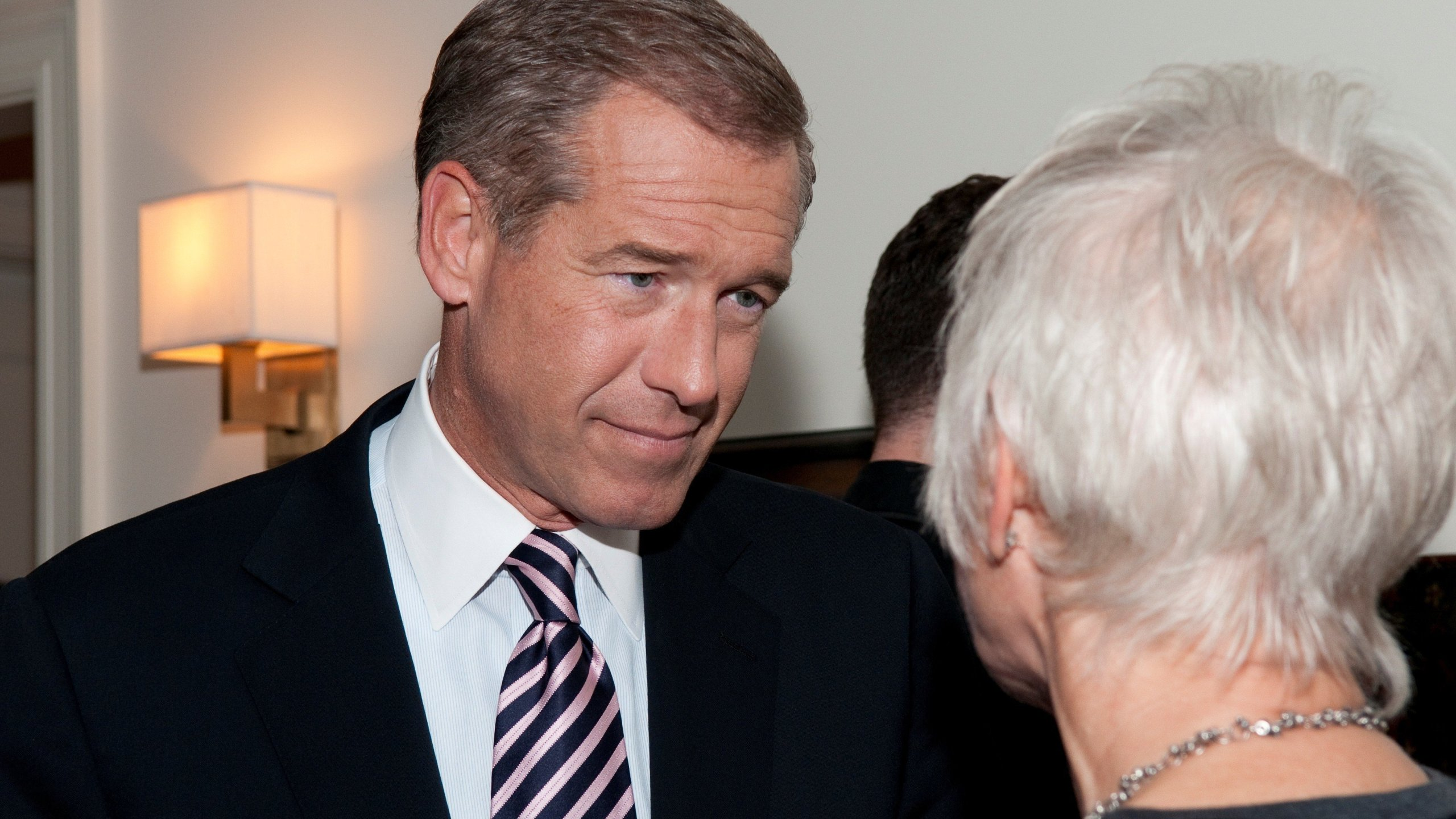 NBC Nightly News anchor Brian Williams appears at a book signing event on October 26, 2011 Photo: Lorenzo Bevilaqua/CNN